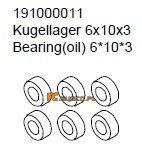 Bearing 6x10x3 - Ansmann Virus
