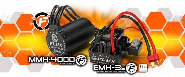 E-FIRESTORM 10T FLUX RTR 2.4 GHz 124 km/h