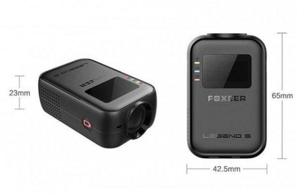 Foxeer Legend 3 FPV 4K SuperVision (WIFI, FOV150, Akumulator 5V, F2.8, 12MP)