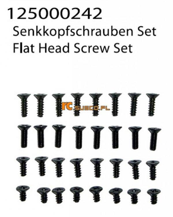Flat Head Screw Set