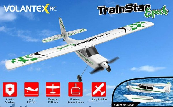 Samolot RC TrainStar Epoch Samolot 1,1m 747-6 V2 RTF