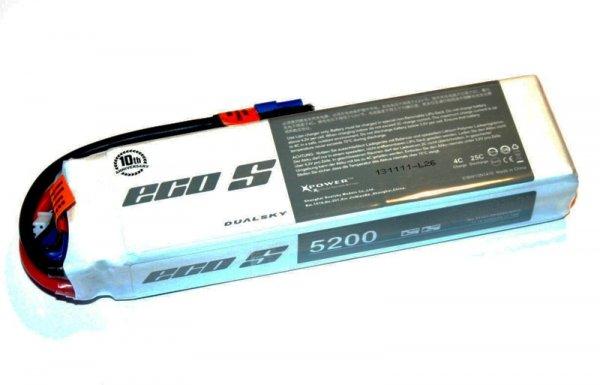 Akumulator Lipo Dualsky 5200 mAh 25C/4C 11.1V