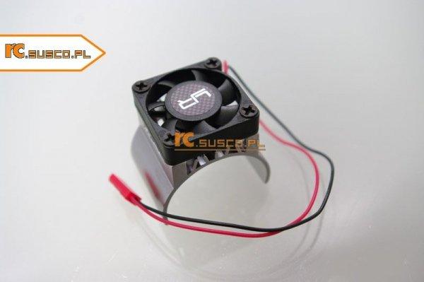 Radiator aluminiowy z wentylatorem na silnik 540-600 1:10