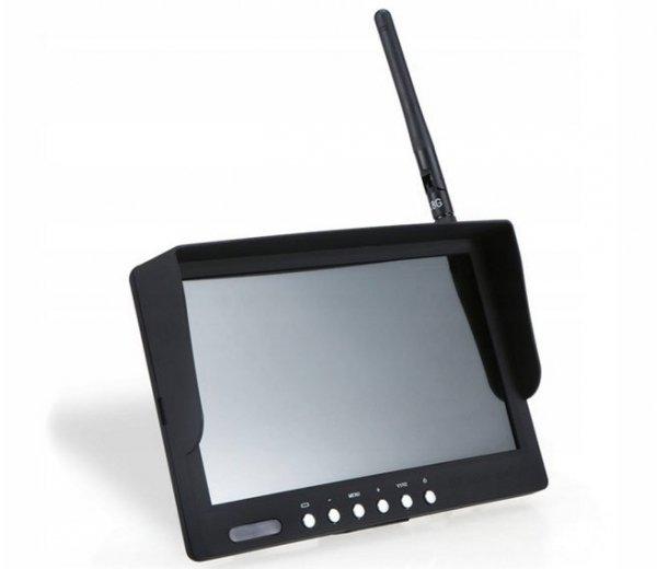 "Monitor TFT LCD 7"" HD 5,8GHz 40CH 800x480 z RC832"