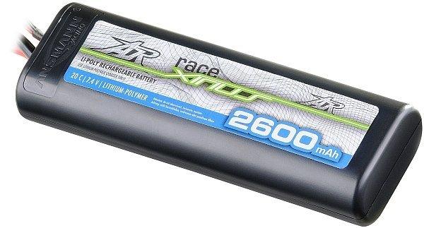 Akumulator Li-po 7,4v 2600 mAh 20C twarda obudowa
