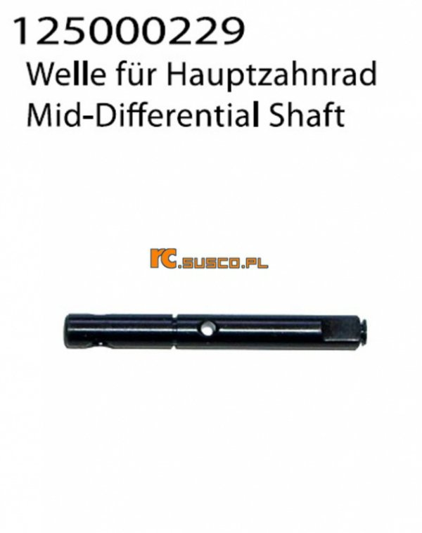 Mid-Differential Shaft