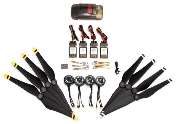Zestaw napędowy quadrocopter E800 silniki + regulatory + śmigła