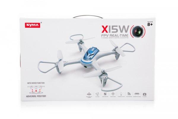 Dron Syma X15W 2,4GHz Kamera FPV Wi-Fi