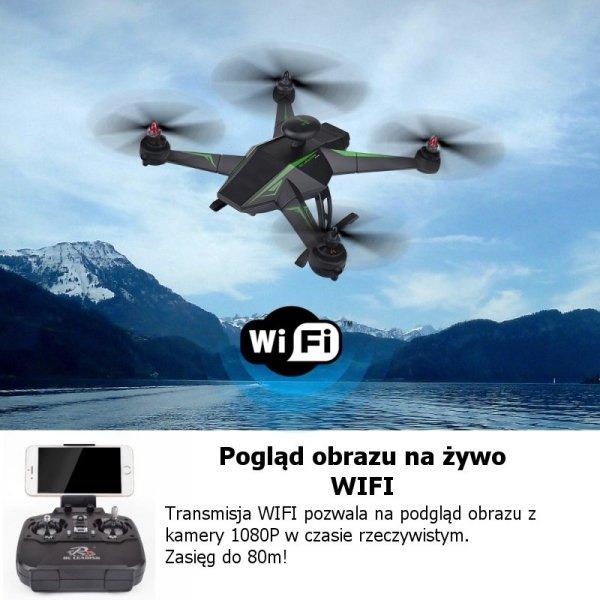 Dron RC136 WS WIFI FPV GPS bezszczotkowy
