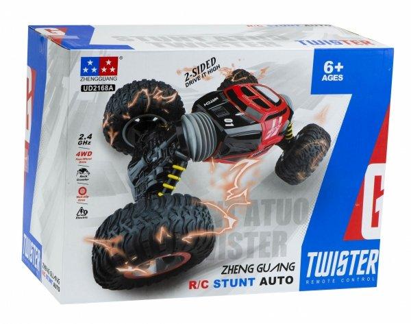 Samochód RC STUNT TWISTER dwustronny z przegubami 2.4Ghz 49cm