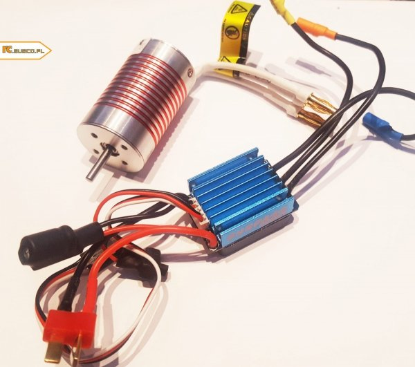 Zestaw napędowy bęzszczotkowy SHRP 35A 2800 KV 480 size 2/3S