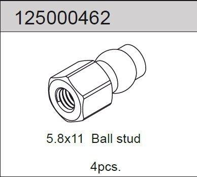 Ballhead 5.8x11 (4) 2WD