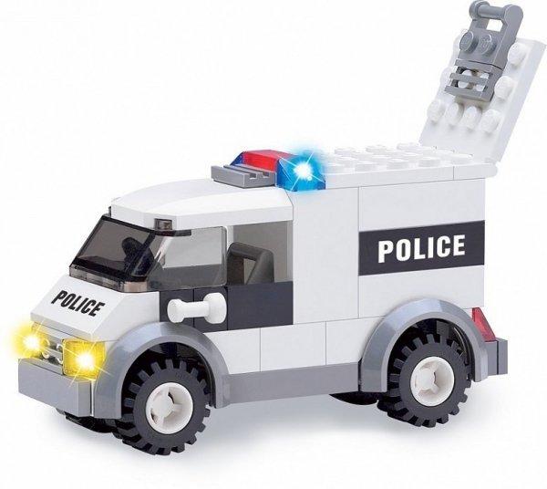 Klocki Blocki Mobilna Komenda Policja 631el KB6725