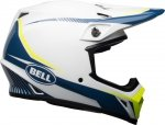 BELL MIPS TORCH WHITE/BLUE/YELLOW Kask Off - road