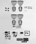 GIVI Z125 Grzybki do płyt oraz stelaży.