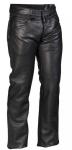 Halvarssons Bc Pewter spodnie skórzane damskie