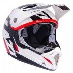 Kask LAZER SMX Whip biały/czarny/czerwony