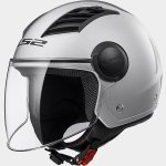 KASK LS2 OF562 AIRFLOW L SOLID SILVER