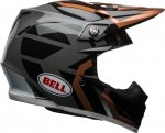 BELL MOTO-9 DISTRICT COPPER/BLACK Kask Off-road