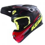 KENNY KASK OFF-ROAD TRACK BLACK/GREY/RED