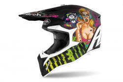 AIROH  KASK OFF-ROAD WRAAP PIN-UP MATT