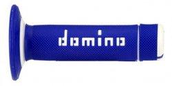 Domino Manetki niebiesko- białe