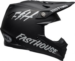 BELL KASK OFF-ROAD MOTO-9 MIPS FASTHOUSE BLACK/WH