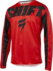 SHIFT BLUZA OFF-ROAD  WHIT3 YORK RED