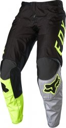 FOX SPODNIE OFF-ROAD JUNIOR 180 LOVL BLACK/YELLOW