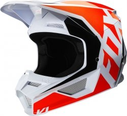 FOX KASK OFF-ROAD V-1 PRIX FLO ORANGE