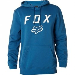 BLUZA FOX Z KAPTUREM LEGACY MOTH DUSTY BLUE