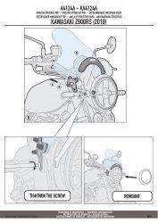 GIVI A4124A MOCOWANIE SZYBY A200/A210 KAWASAKI Z900 RS