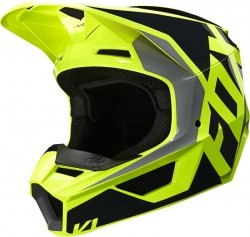 FOX KASK OFF-ROAD V-1 LOVL BLACK/YELLOW