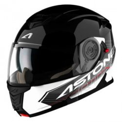 ASTONE KASK RT 1200 GRAPHIC TOURING BLACK/WHITE