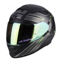 SCORPION KASK EXO-510 AIR ROUTE MATT BK-GREEN