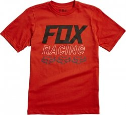FOX T-SHIRT JUNIOR OVERDRIVE ATOMIC ORANGE