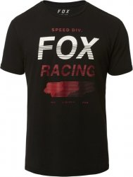 FOX T-SHIRT  UNLIMITED AIRLINE BLACK
