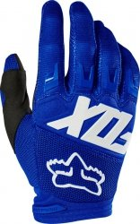 FOX RĘKAWICE OFF-ROAD DIRTPAW RACE BLUE/WHITE
