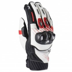 FURYGAN RĘKAWICE MOTOCYKLOWE RG19 WHITE-BLACK-RED