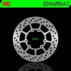 NG1482 TARCZA HAMULCOWA YAMAHA WR 125R '09-'14 (240X86X4) (6X6,5MM)