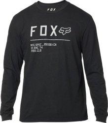 FOX KOSZULKA  Z DŁUGIM RĘKAWEM NON STOP BLACK