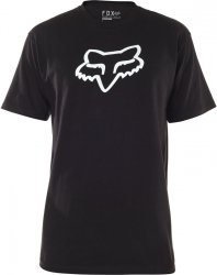 FOX T-SHIRT LEGACY HEAD BLACK