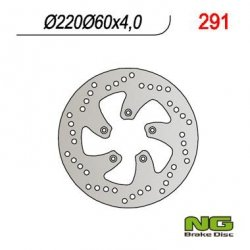 NG291 TARCZA HAMULCOWA APRILIA 50/125/200 SCARABEO (220x60x4)