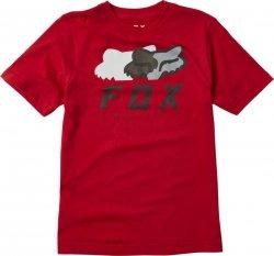FOX  T-SHIRT JUNIOR CHROMATIC CHILI