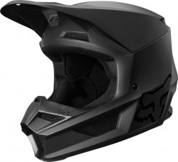 FOX KASK OFF-ROAD JUNIOR V-1 MATTE MATT BLACK