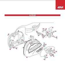 GIVI GIZ41FNM E41 CZARNA BOTTOM SHELL