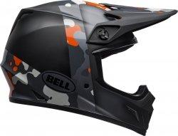 BELL KASK OFF-ROAD MX-9 MIPS BLACK FLO ORANGE CAMO