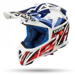 AIROH KASK OFF-ROAD AVIATOR 2.3 AMSS SIX CHROME