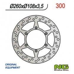 NG300 TARCZA HAMULCOWA GAS GAS 125 94-99 (260x108x3,5)