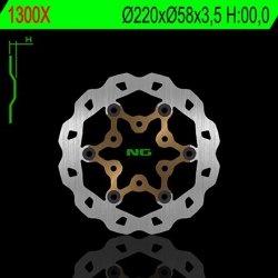NG1300X TARCZA HAMULCOWA CPI/HONDA/MBK/TGB/YAMAHA (220X58X2,5)(3X10,5MM) PŁYWAJĄCA